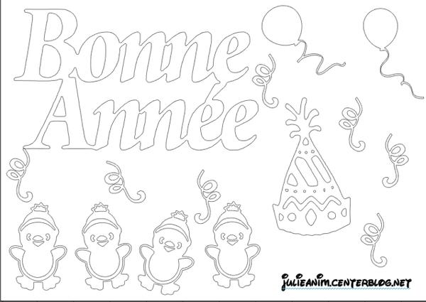 Hiver page 2 - Bonne annee coloriage ...